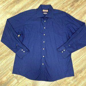 Thomas Pink of London 17 43CM Blue Dress Shirt